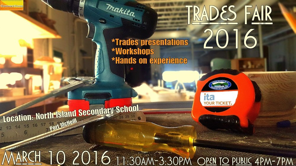 trades fair poster 2016